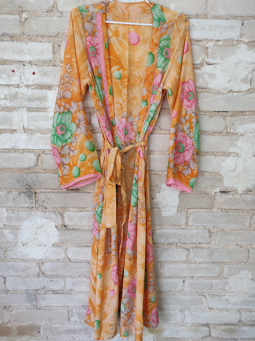 Long Silk Kimono