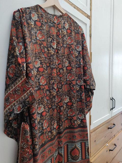 Flayer Silk Kimono