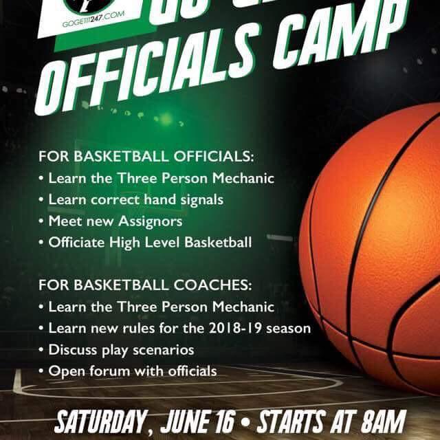 Go Get It Officials Camp