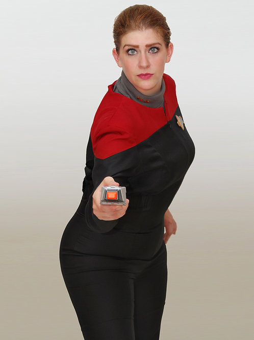 You'd better grab a phaser! - Cosplay Print