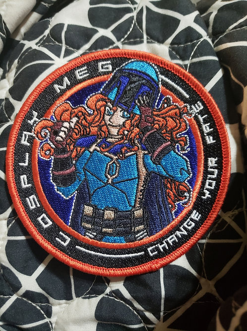 "4"" CosplayMeg patch"