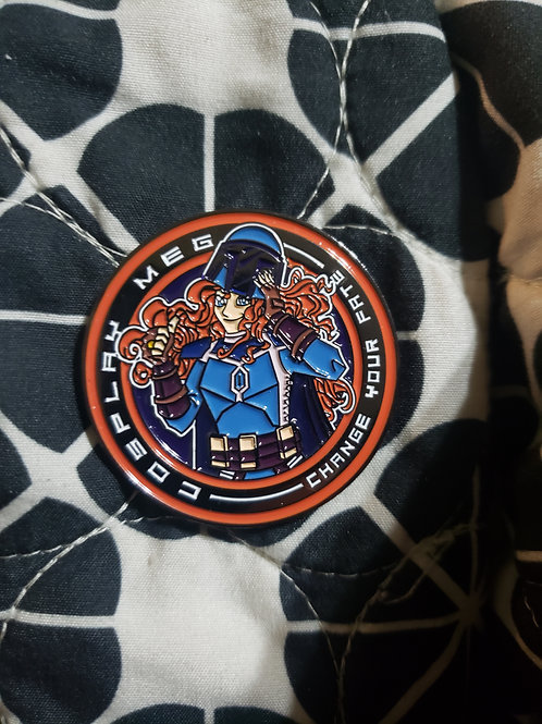 "1.75"" CosplayMeg Challenge Coin"
