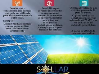 Novas regras para a geração através da Energia Solar começam a valer a partir de amanhã no Brasil.