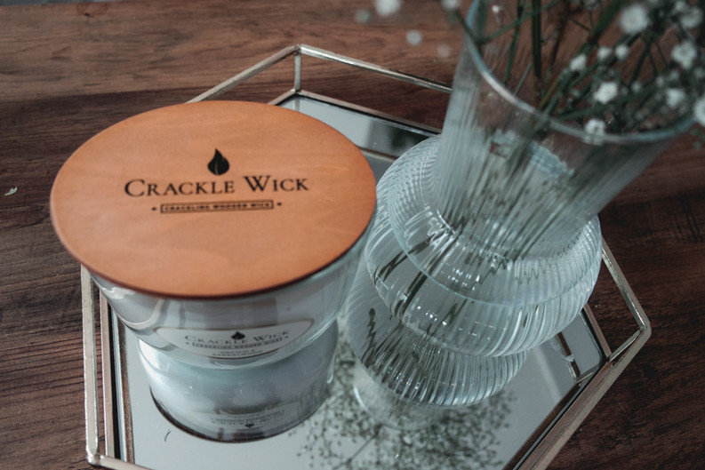 CRACKLE WICK CANDLE