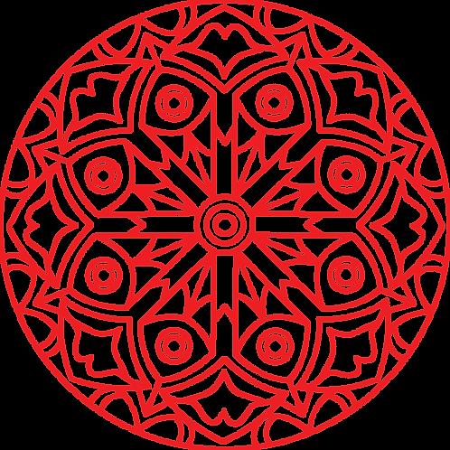 Mandella Embroidery 1