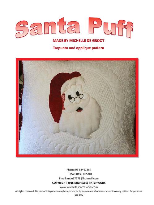 Santa Puff Pattern