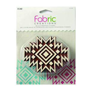 Block Stamp Aztec Tile