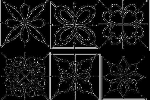 #30692 Score of Four Stencil