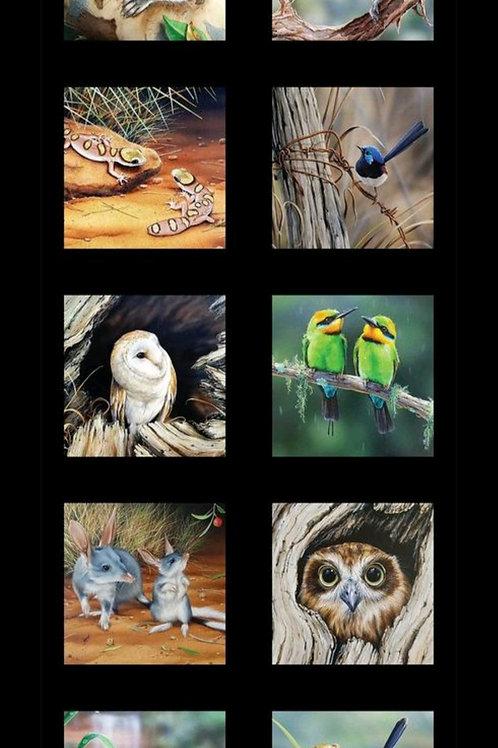 Wildlife Art 5 #DV3707