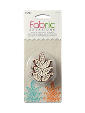 Block Stamp Small Fern