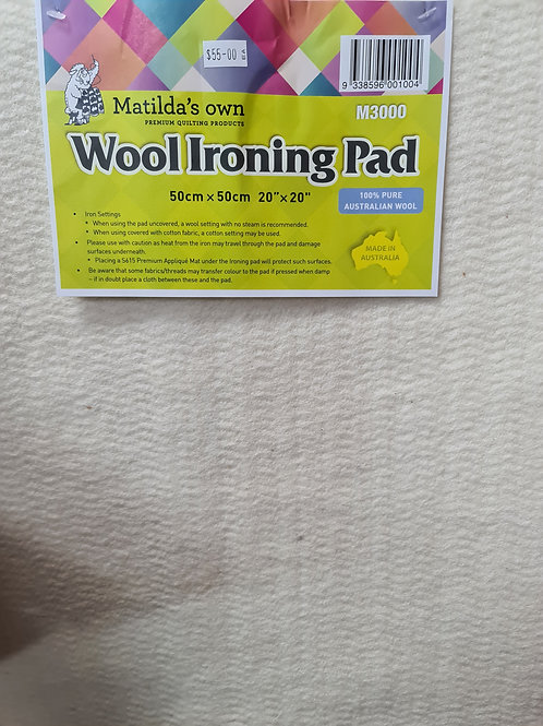 Matildas own wool iron mat