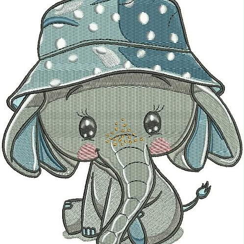 Edgar the Elephant Embroidery File