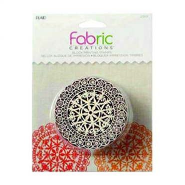 Block Stamp Lace Doily