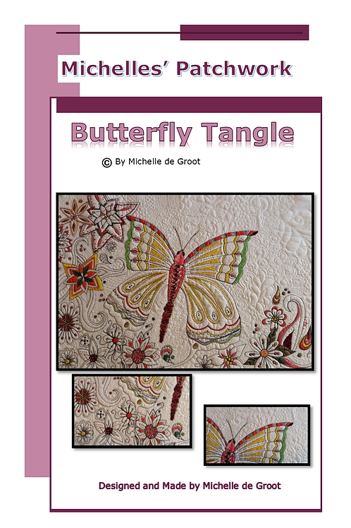 BT101-Butterfly Tangle Pattern