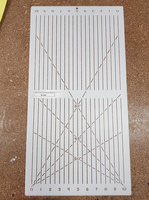 Line template