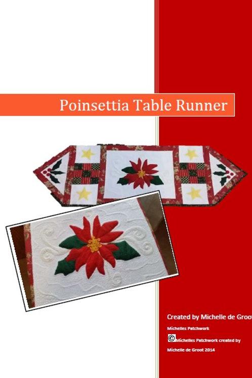 Poinsettia Table Runner Pattern