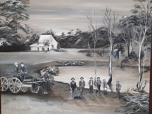 Dereel homestead 1900's