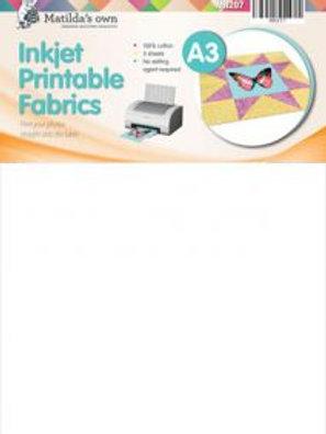 A3 Extra Large Size Inkjet Printable Fabric