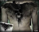 crow, raven Trash polka