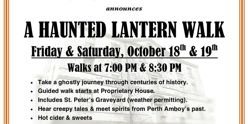 A Haunted Lantern Walk Oct. 19 7pm