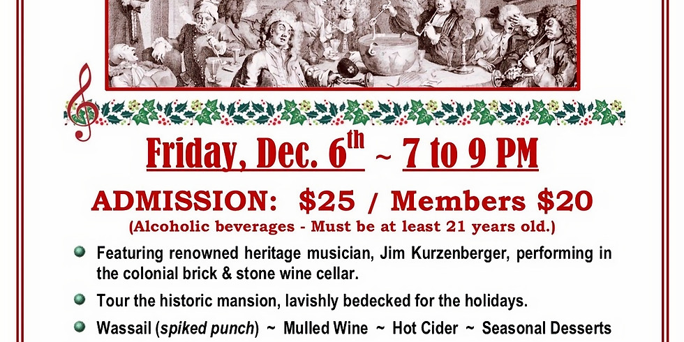 Wine, Wassail, and Song