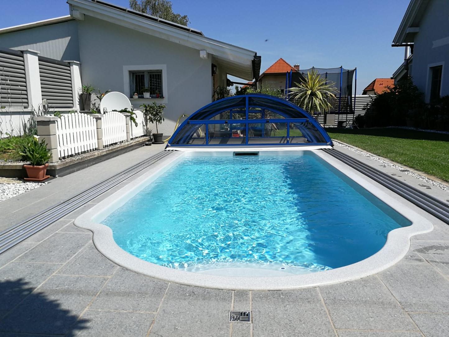 Stein Schindler Poolumrandung