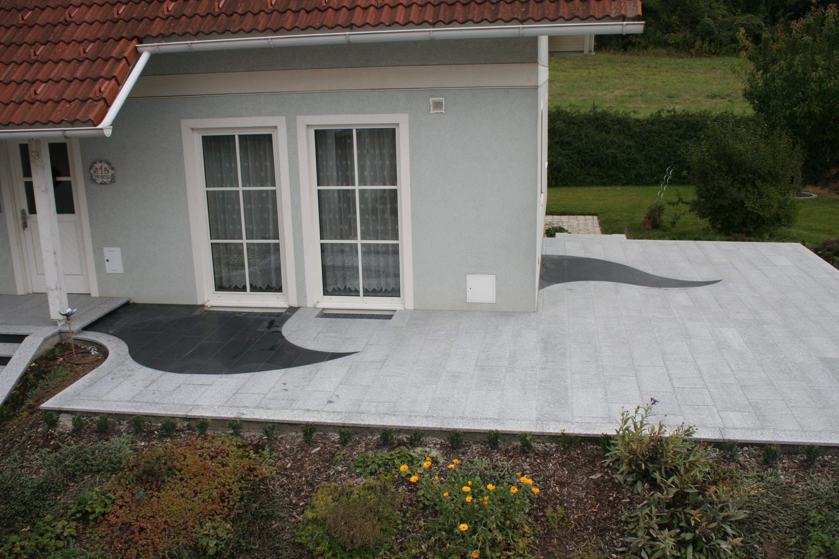 Stein Schindler Terrasse