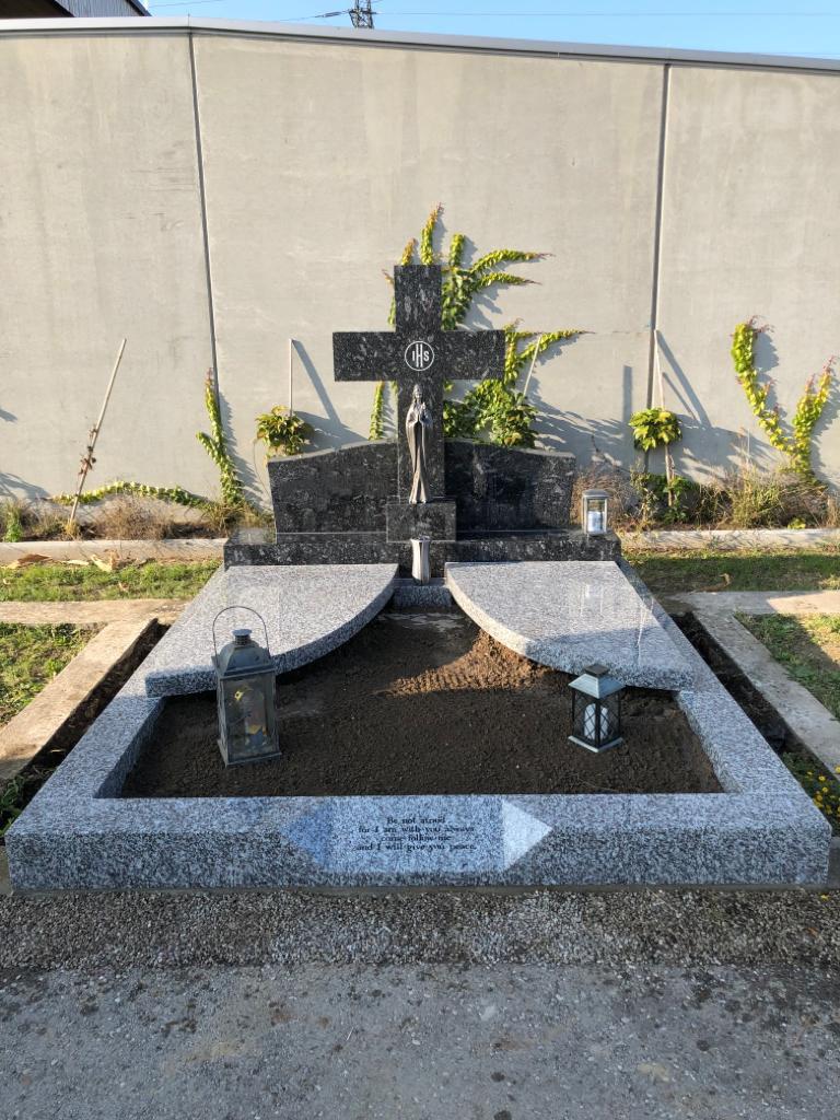 Stein Schindler Doppelgrab