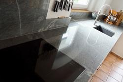 Stein-Schindler Küchenplatte