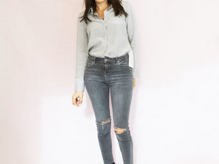 Your Basic Button Down and Jeans