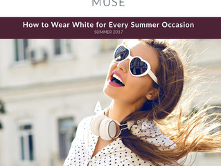 Featured On : The Modern Muse {How To Wear White}