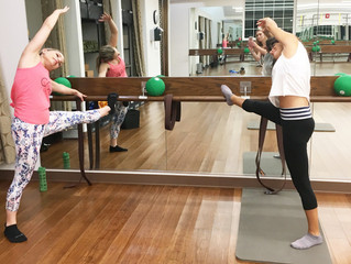My Barre Experience at Exhale Spa