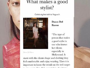 Featured on Vogue Italia