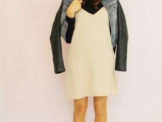 A Slip Dress & Denim Jacket