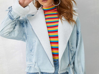 Winter Denim Jackets {The Style List}