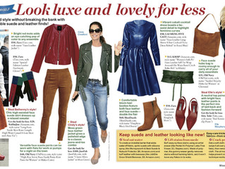 Featured In { Woman's World } Keep Your Suede Clean