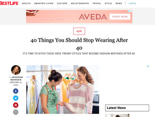 Featured On : Best Life { 40 Style Changes After 40}