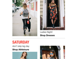 Feature : Mixology Clothing Saturday Date