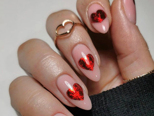 Heart Nail Designs For Valentine's
