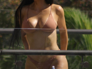 Kim Kardashian West Goes Nude in Costa Rica