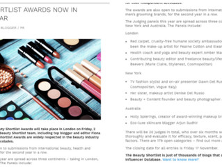 UK Beauty Shortlist Awards Judging Panel