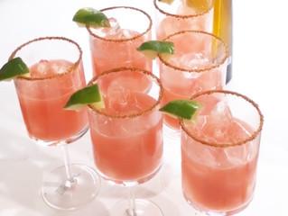 The Best Watermelon Lime Margarita's
