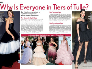 Featured In : Life & Style Magazine Tiers of Tulle