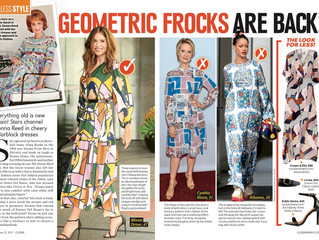 Featured In : Closer Weekly Geometric Prints
