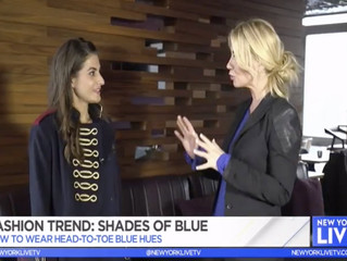Featured On : NBC NY Live - Trend Report Shades of Blue