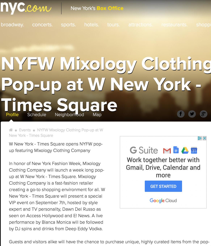 nyc.com mixology press