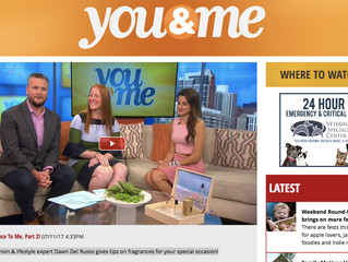 Featured On : Chicago's You & Me Talk Fragrance to Me