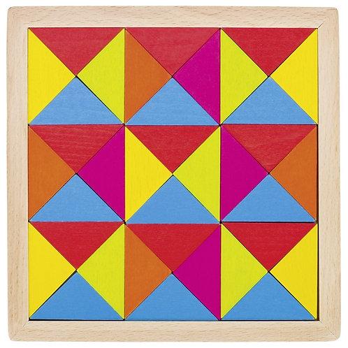 goki 58586 Mosaic puzzle rainbow II