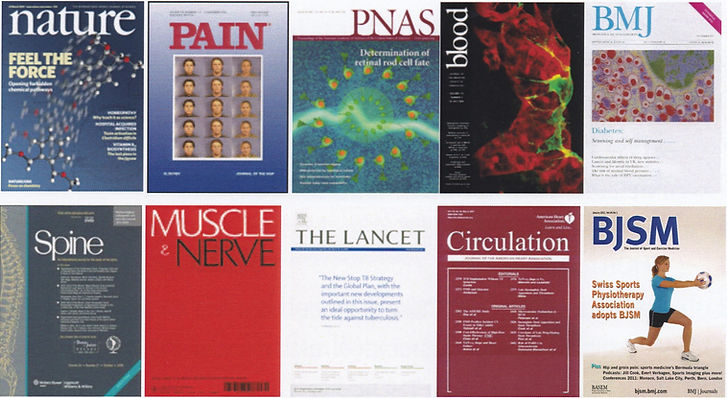 Medical journal covers