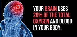 Brain use of oxygen